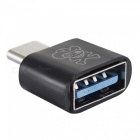 Hat-Prince HC-8 USB 3.1 Type-C to USB OTG Adapter Converter - Black
