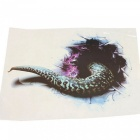ZIQIAO Simulation 3D Black Hole Snake voiture Styling Monster Sticker