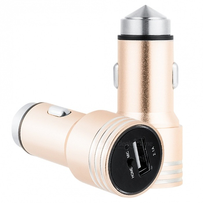 A08 Multifunction Bluetooth Car Charger with FM Transmitter for Car