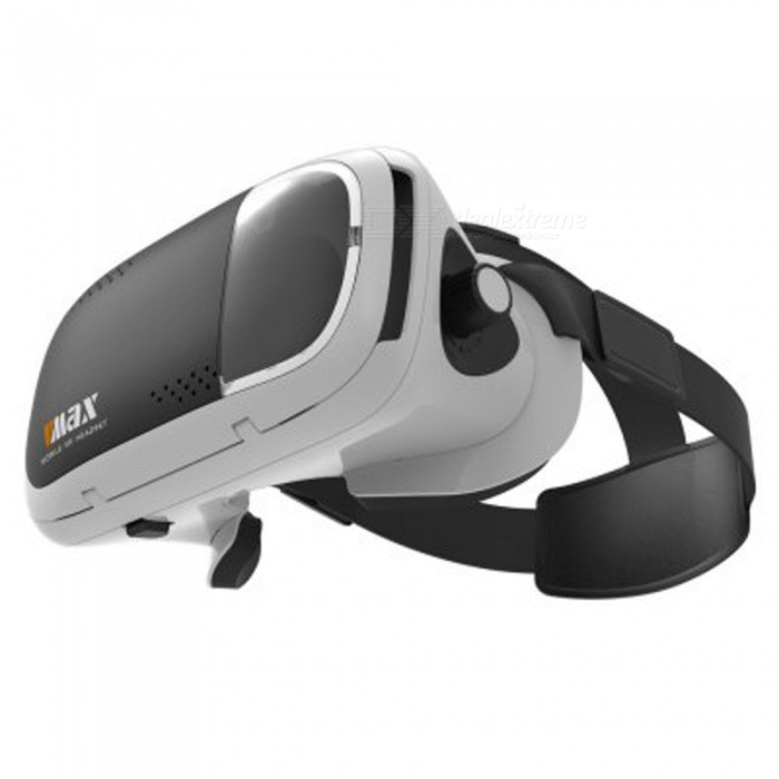 RITECH VR MAX Virtual Reality 3D Glasses - Black