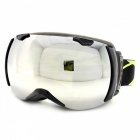 Panlees JL005 Skiing Snow Goggles Glasses w/ Dual Lens - Black + Grey