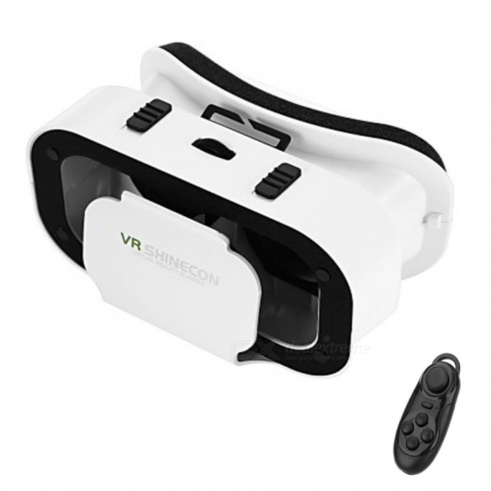 SHINECON G05A VR SHINECON 3D Glasses + Bluetooth Controller
