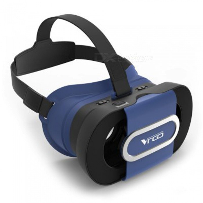 RITECH VR GO Virtual Reality Foldable 3D Glasses - Blue