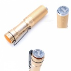 ZHISHUNJIA 395nm UV Fluorescent Agent Identification Flashlight - Gold