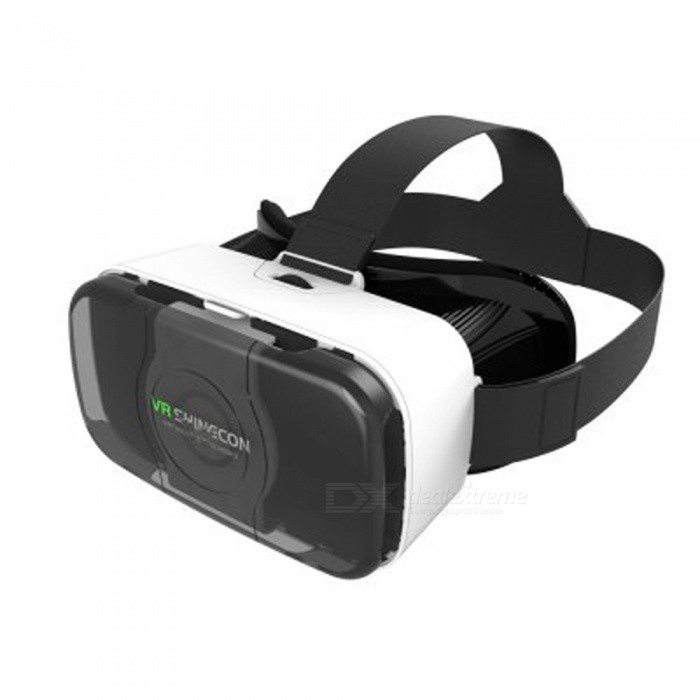 "SHINECON SC-3GD 3D Brille VR Headset für 4,4 ""-6\"" Phones-Weiß"