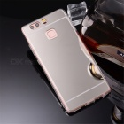 TPU + PC Mirror Back Case Cover for Huawei P9 - Translucent Silver