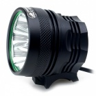 Zhishunjia B14 14-LED 3-Mode Cold White Bike Light / Headlamp - Black