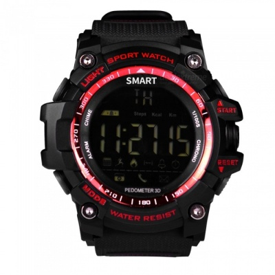 EX16 Sport Smart Wristband Watch for Android / IOS Devices - Red