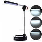 YouOKLight 3-Mode White Light LED Metal Folding Desk Lamp - Black