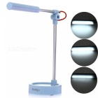 YouOKLight 3-Mode White Light LED Metal Folding Desk Lamp - Blue