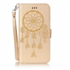BLCR Dreamcatcher étui en cuir pour IPHONE 7 Plus - Or