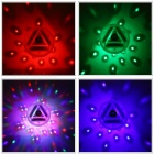YouOKLight DC 5V 3xAAA baterie Powered LED RGB bazén Podvodní Light