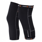 NUCKILY Legging Kneepads for Riding, Playing Basketball - Black (XXL)