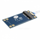 CY SA-210 50mm Mini PCI-E 52pin mSATA SSD to M.2 NGFF B-key Adapter