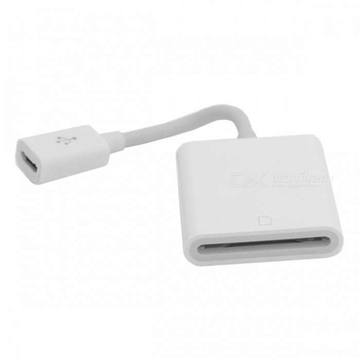 CY GT-220 Micro USB 2.0 Female to SD SDXC Card Reader Adapter