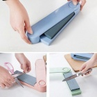 Multi-function Double-sided Kitchen Knife Grindstone - Light Blue