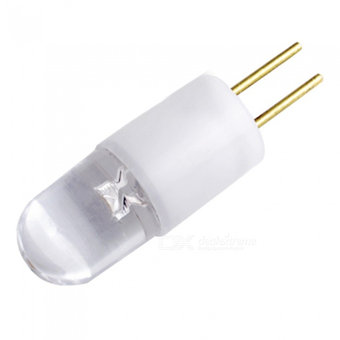 QooK G4 0.3W 3000K Warm White 1 LED Light Lamp Bulbs (10 PCS / DC 12V)