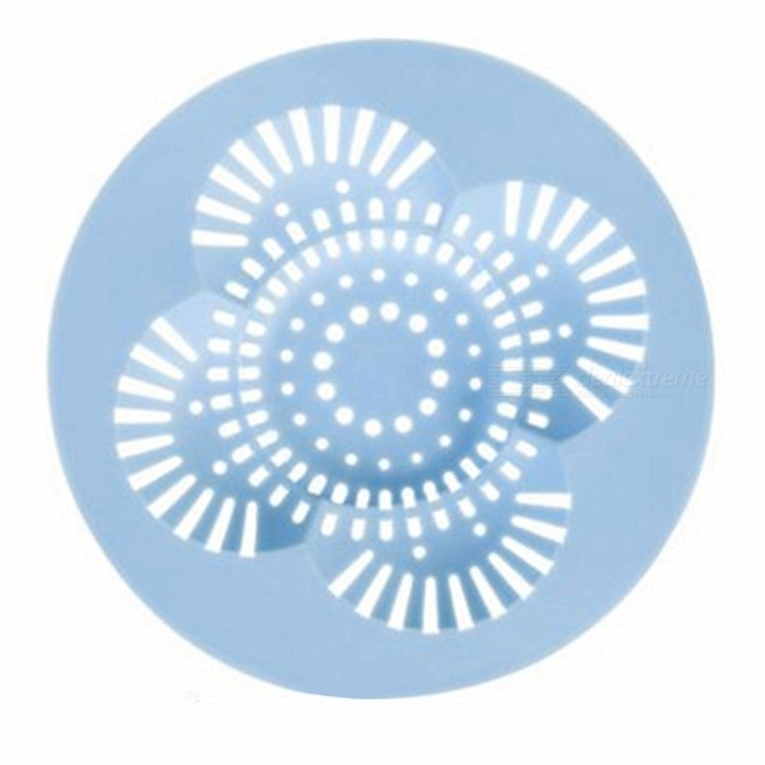 PVC Anti Clogging Floor Drain Cover - Light Blue