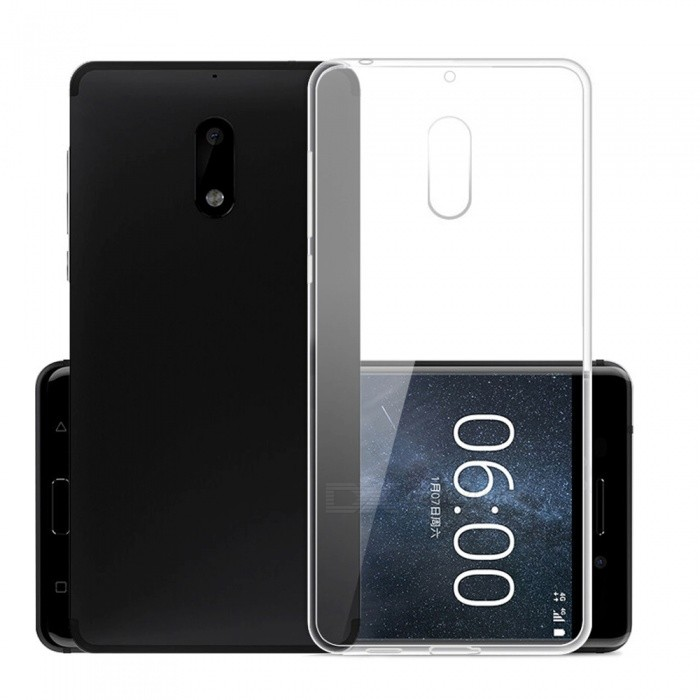 Mr.northjoe Transparent Clear Protective Case for Nokia 6