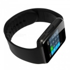 "KICCY GT08 1.54 ""SIM Bluetooth Smart Watch Android IOS - Musta"