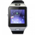 "KICCY 1.4"" Bluetooth Smart Wrist Healthy Watch - Silver + Black"