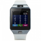 """KICCY 1.4"""" Bluetooth Smart Wrist Healthy Watch for Phone - White"""