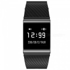 X9 Plus Waterproof Smart Watch Heart Rate Blood Pressure Monitor-Black