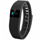 BT Smart Rubber Wristband w/ Pedometer Clock Display, Alarm, Call Reminder Functions