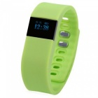 "KICCY TW64 0.49"" OLED Bluetooth Smart Bracelet Fitness Tracker - Green"