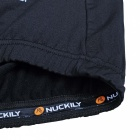 NUCKILY Windproof Long-Sleeved Men's Fleece Cycling Jacket - Black (M)