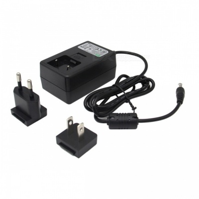 Geekworm DC 5V 4A Power Adapter w/ EU + US Plug for Raspberry Pi