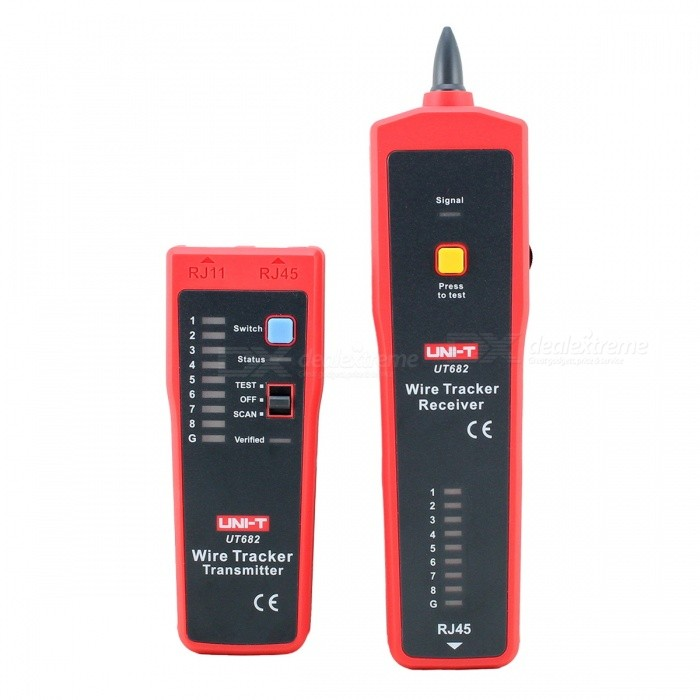 UNI-T UT682 Linefinder Adapter Cable Tester Machine