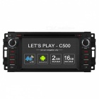 Eigenen C500 Android 6.0 Quad-Core-Auto DVD-Player GPS für Jeep Chrysler