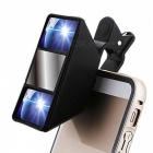 New Mini 3D Photograph Stereoscopic Camera Lens w/ Clip for iPhone Smart Phone