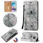 BLCR 3D Embossed Dandelion Pattern Case for Samsung Galaxy S7 Edge