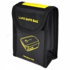 Safe Exposion-Proof Fabric Storage Bag for RC Li-Po Battery - Black