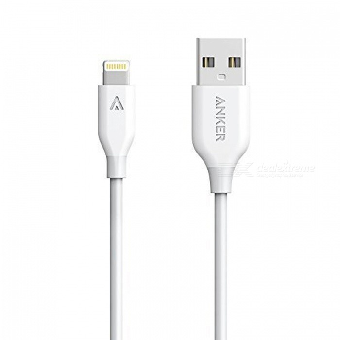 Anker PowerLine Lightning Cable 3ft Apple MFi Certified Charging Cable