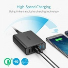 Anker A2054 Quick Charge 3.0 63W 5 Port USB Chargeur mural - Noir