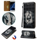 "BLCR Poker Pattern Magnetic Leather Case for 5.5"" IPHONE 6 Plus"