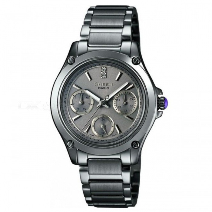 Casio SHE-3502BD-8A Men's Stainless Steel Watch - Gray