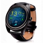Buy KICCY K89 1.2 inch Bluetooth v4.0 Heart Rate Monitor Smart Watch - Black