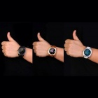 "KICCY K89 1.2"" Bluetooth v4.0 Heart Rate Monitor Smart Watch - Black"