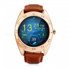 "KICCY K89 1.2"" Bluetooth v4.0 Heart Rate Monitor Smart Watch - Golden"