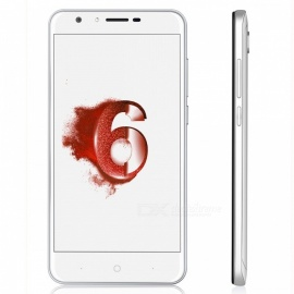 """DOOGEE Y6 5.5"""" Android 6.0 4G Phone w/ 4GB RAM, 64GB ROM - Piano White"""