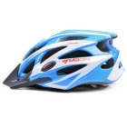 MOON MV-29 Ultralight Bike Helmet (Upgrade Version) - Blue + White (M)