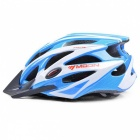 MOON MV-29 Ultralight Bike Helmet (Upgrade Version) - Blue + White (L)