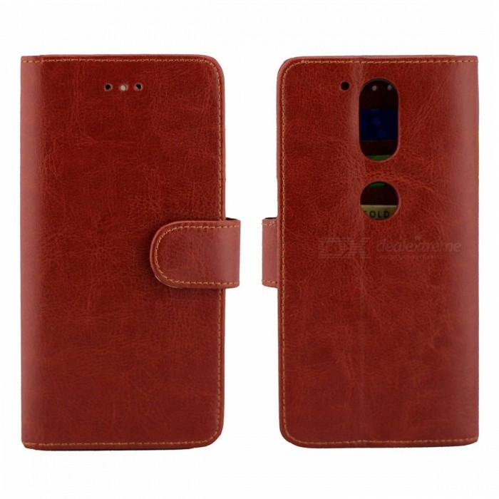 PU Leather Case w/ Holder Card Slot for Motorola Moto G4/ Moto G4 PlusLeather Cases<br>Form  ColorBrownModelN/AMaterialPUQuantity1 DX.PCM.Model.AttributeModel.UnitShade Of ColorBrownCompatible ModelsMotorola Moto G4/MOTO G4 plusFeaturesHolder functionPacking List1 x Case<br>