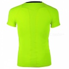 NUCKILY Outdoor Cycling manches courtes T-shirt - vert fluorescent (M)