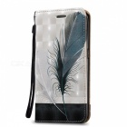 BLCR Feathers Pattern Magnetic Case For Samsung Galaxy S6 Edge
