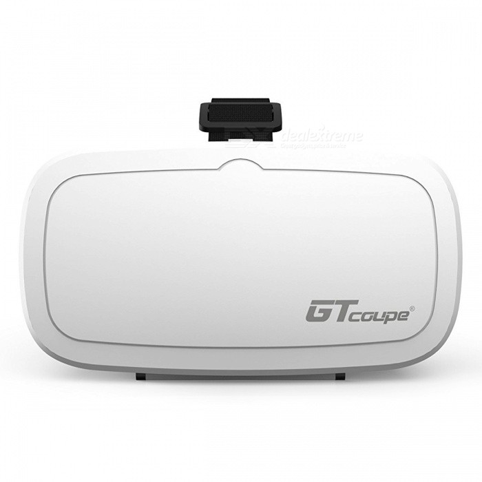 "GTcoupe 3D VR Glasses Video Headsets for 4 to 6"" Smartphone - White"
